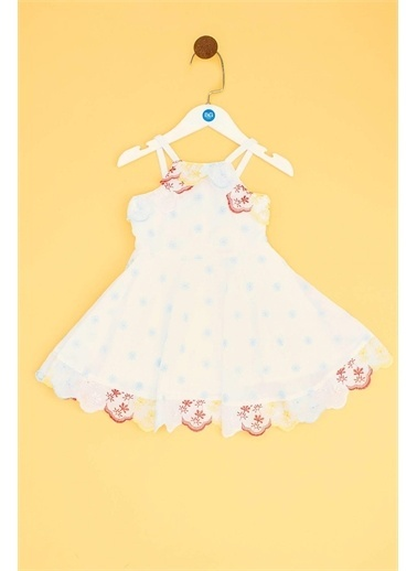 BG Baby Kız Bebek Desenli Elbise 19Ss2Bg2919 Renkli